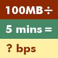 Bitrate Calc (ビットレート、ファイルサイズ、時間の計算機)